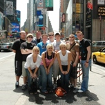 Chipola College visits Times Square