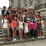 The Franklin High School visits the Metropolitan Museum Of Art