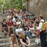 The Franklin High School visits Central Park