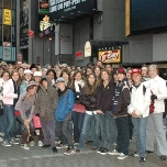 The Ramona MS visits Times Square