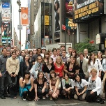 The Union High School visits Times Square