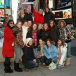 The VYBC visits Times Square